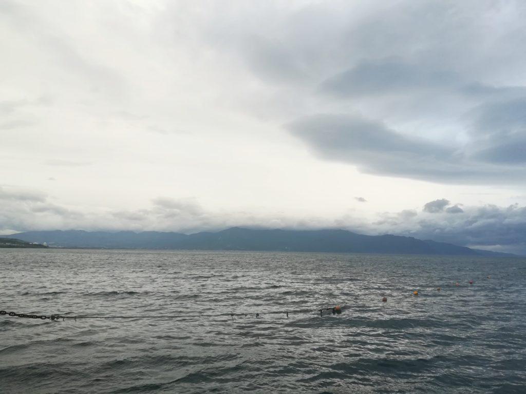 Iwanai Town Cuaca buruk