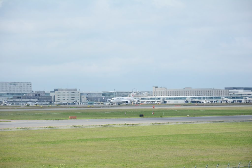A350 走り出す