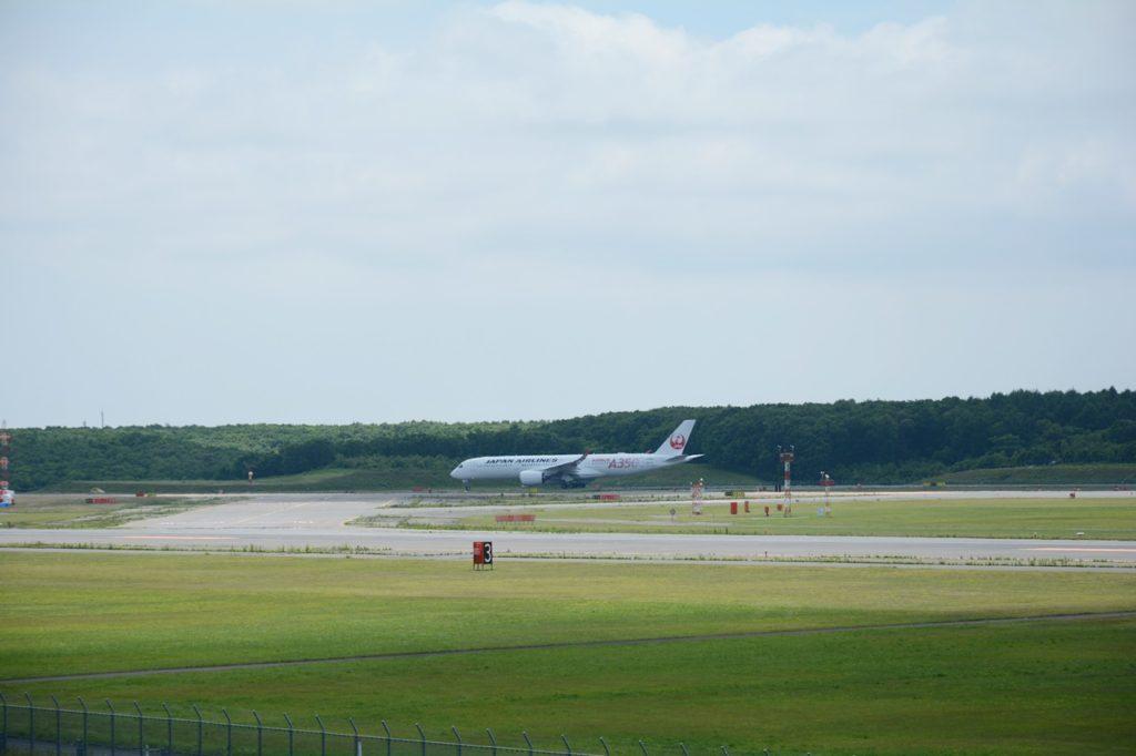 A350移動中