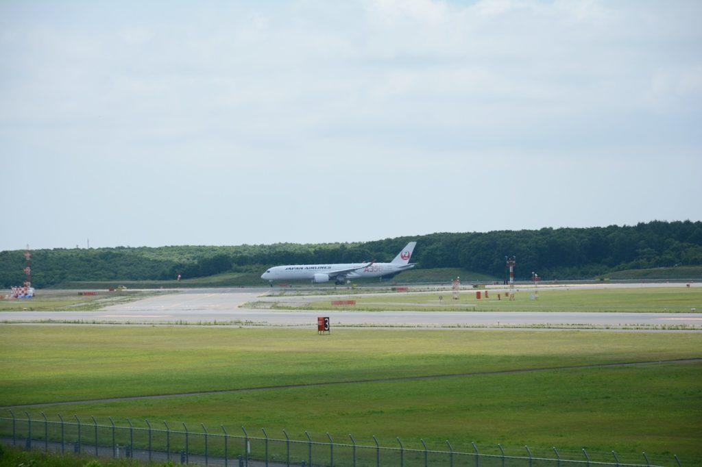 A350滑走路走行