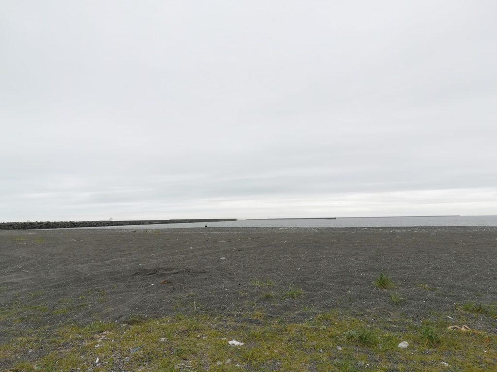 苫小牧の砂浜